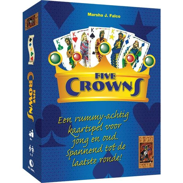 Dutch FIVE CROWNS - 999 Games