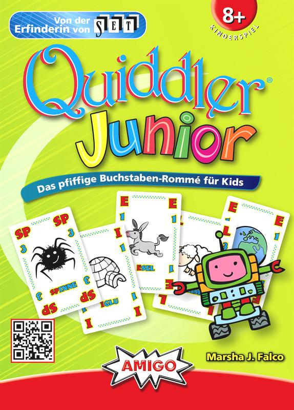 QUIDDLER JUNIOR - Amigo Spiele - German