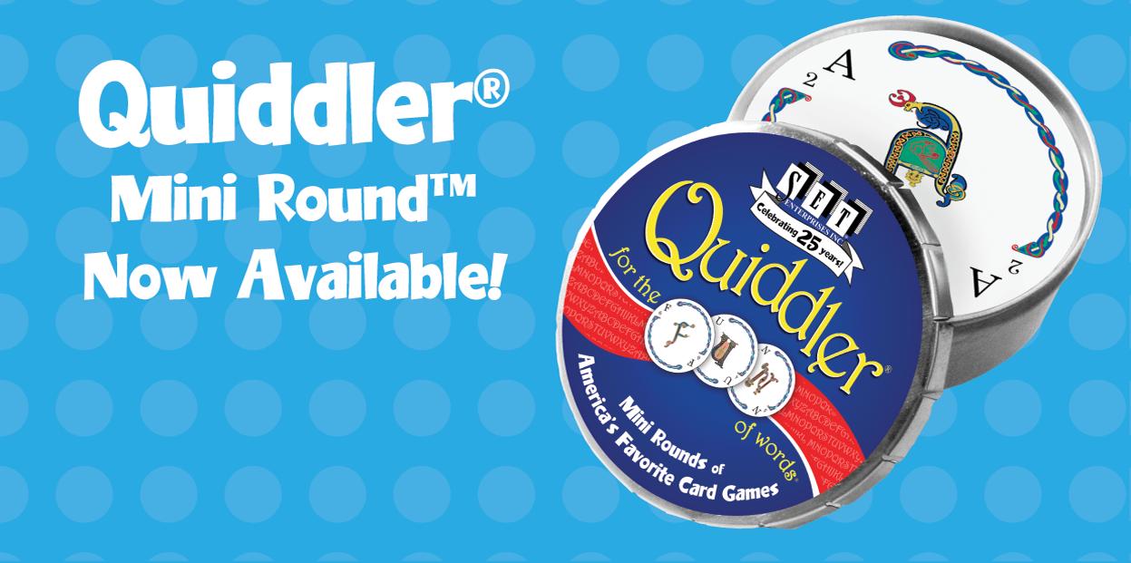 QUIDDLER MINI ROUND is here!