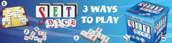 SET DICE - 3 ways to play!