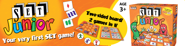 SET JUNIOR - Your very first SET game!