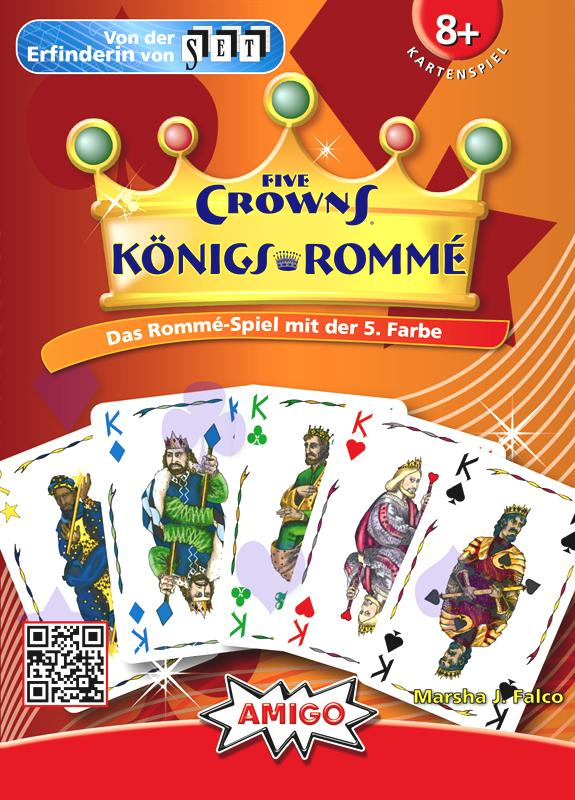 German FIVE CROWNS - Amigo-Spiele