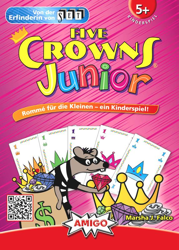 Amigo Spiele FIVE CROWNS JUNIOR - German