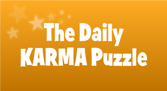 Daily Karma Puzzle