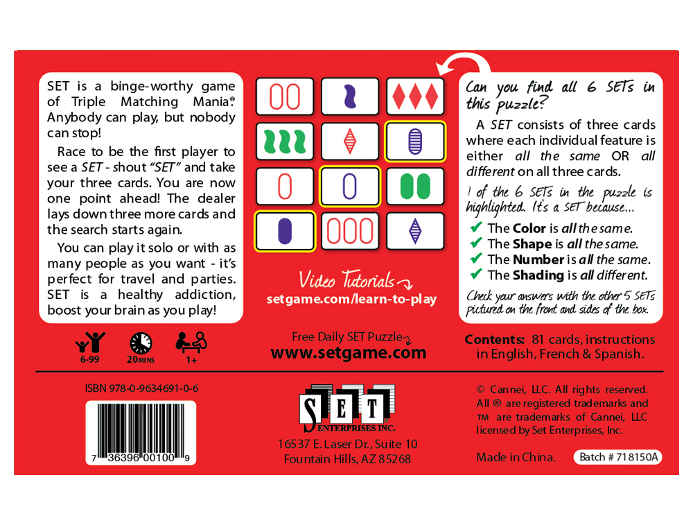 Set Americas Favorite Card Games