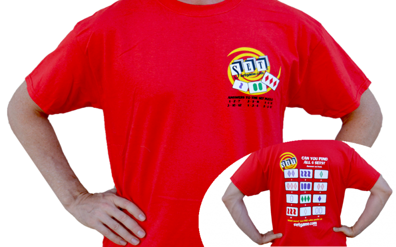 SET T-Shirt Red Front