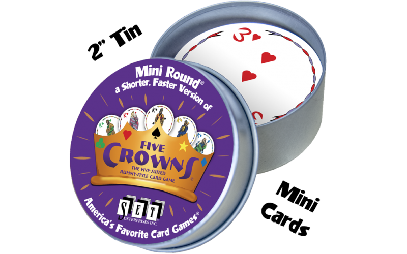 Five Crowns Mini Round
