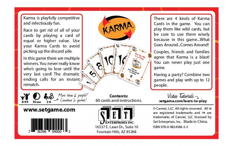 Karma Box Back