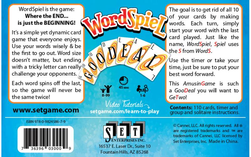 Wordspiel Box Back