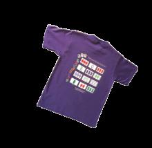 back of SET t-shirt
